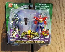 2010 Mighty Morphin Power Rangers RPM Black Ranger & High Octance Megazord. NEW