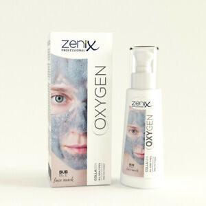 ZENIX CARBONATED BUBBLE FACE MASK BLACKHEAD ACNE SPOT TREATMENT w COLLAGEN 70ML