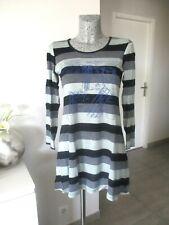 robe taille 38 40 M de marque SOGGO tunique rayé manche longue woman dress femme