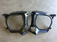 1988-1991 Honda CRX Rear Speaker Mounts - OEM - Speaker Pods Brackets EF8 CR-X