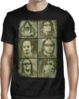 OVERKILL - Faces - T SHIRT S-M-L-XL-2XL Brand New - Official T Shirt