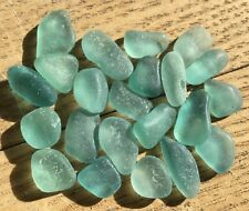 Genuine Surf Tumbled Sea Glass Teal Aqua A#991