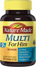 Nature Made Multi For Him 90 Tablets