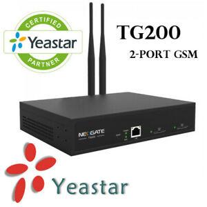 MAKE OFFER Yeastar TG200 NeoGate GSM Gateway GSM to VoIP 2G YST-TG200 MAKE OFFER