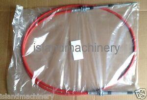 KOMATSU  EXCAVATOR THROTTLE CABLE    PC60-6 PC70-6