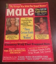 VTG Male Magazine February 1972 Issue Angel Brutes Adult Nude Erotica 1970's