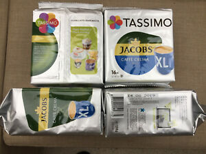 4x 16 Tassimo Caffé Crema Mild Jacobs Kaffeekapseln Kaffee RestPosten MHD Ware