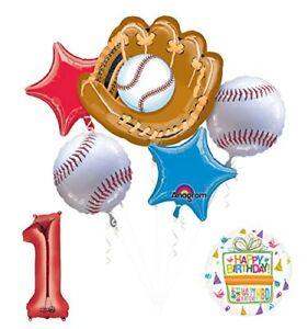 Baseball 1st Birthday Party Supplies