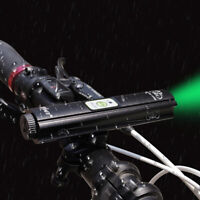 Bike Night Cycling Front Laser Pattern Light USB Rechargeable Headlamp Headlight