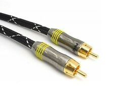 5 Metre RCA DIGITAL COAXIAL AUDIO SPDIF CABLE FOR SURROUND SOUND / DOLBY / DTS
