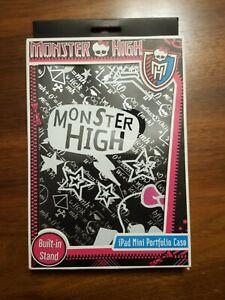 Monster High iPad Mini Portfolio Case NEW IN BOX