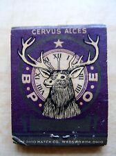Matchbook Cover Houston Texas Elks BPOE