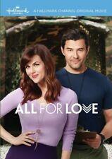 All for Love 2017 (Hallmark DVD) Sara Rue, Steve Bacic, Teryl Rothery - New!