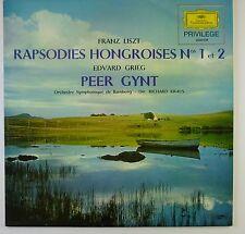 "12"" LP - Franz Liszt - Rapsodies Hongroises N° 1 Et 2 / Peer Gynt - k5810"