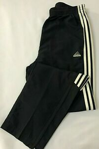 ADIDAS Womens 3 Stripes Poly Woven Lined Track Pant Size 12