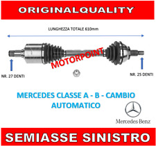 SEMIASSE SX SINISTRO MERCEDES CLASSE A W169 B W245 CAMBIO AUTOMATICO