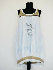 Ian Mosh Cream Embroided Tunic/Dress, Size:2