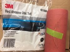 """3M 1109 Stick It Adhesive Back 6""""  320 Grit Disc Sandpaper 100 Sheets/Roll 01109"""