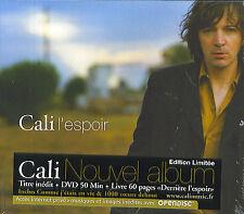 Cali : L'espoir - Edition limitée (CD + DVD + livre)