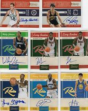 Quincy Pondexter 2010-11 Panini Classics Rookie hard signed auto RC 255/699