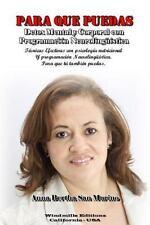 Para Que Puedas by Anna Bertha San Marino (2012, Paperback)