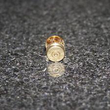 .38 spl Spent Brass Bullet Tie Tack/Hat Pin