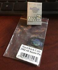 HRC Hard Rock Cafe All Access 2002 Membership Card Pin NEW # 13128