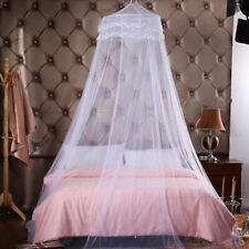 Elegant Lace Dome Mosquito Net Encrypted Hanging Curtain Canopy Bed Decor Insect