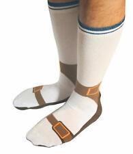 Sandal Socks Novelty Socks for Men Funny Gift Ideas Adult Size 5-11 Presents Him
