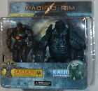 NECA MISP Pacific Rim GYPSY DANGER LEATHERBACK Jaeger Kaiju action figure 2 pack