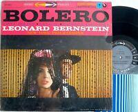 Columbia 6-EYE MS 6011 lp Ravel BOLERO/ LA VALSE Leonard Bernstein SHRINK stereo