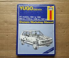 Yugo Zastava Haynes Manual 1981 to 1990  Unused & Sealed   Free UK Post