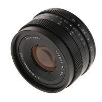 50mm F/1.8 Manual Focus Prime Lens for Olympus Lumix Panasonic Micro 4/3