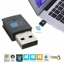 Mini 300Mbps Wifi Dongle USB Adapter Wireless LAN Network Laptop Windows SKY BT