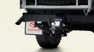 Genuine Toyota Land Cruiser 79 Cab Chassis Tow Bar 3500kg (Aug 2012 - On) PZQ64-