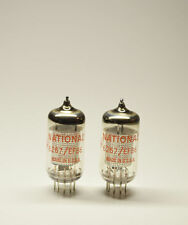 Matched pair National Electronics 6267/EF86 tubes - AV139