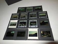 Kodak Slides 1940s Military Lot of Slides WW2 army troop Jeep Convoy Ship vtg
