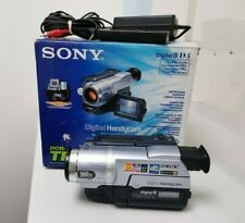 SONY HANDYCAM DCR-TRV140E PAL CAMCORDER DIGITAL 8 MM TAPE VIDEO CAMERA E-MEDIA
