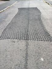 6.5m By 2m cargo rope net 4tree play house den climbing frame slide safety
