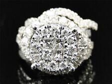 Christmas Special Round Cut Diamond Bridal Sets Engagement Ring Wedding Band