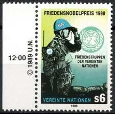 United Nations Vienna 1989 SG#V89 UN Peace Keeping Forces MNH #E7283