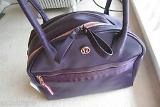 Lululemon Sweat Once A Day Bag Duffel Tote Deep Zinfandel Purple