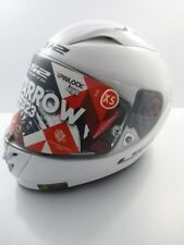 LS2 FF323 ARROW FULL FACE Helmet Solid White Size XS