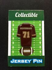 Washington Redskins Trent Williams jersey lapel pin-Collectible-Fan Fav Player