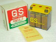 NOS HIGH QUALITY GS BATTERY 6N11A-4 6V 11AH JAPAN