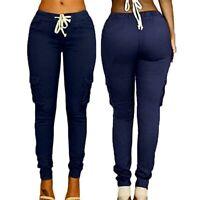 Pencil Trousers Long Pants High Waist Skinny Ladies New Women's Jeggings Cargo
