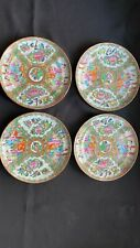 New listing Four Antique 19th C. Chinese Famille Export Porcelain Plates