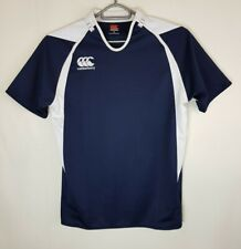 Canterbury New Zealand Mens Rugby Top T Shirt Size XL Scotland Blue White     47