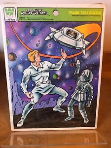 Buck Rogers Jigsaw SEALED 70s Vtg Frame Tray Puzzle 1979 Complete Whitman Sci-fi
