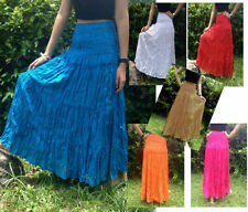 Unbranded Rayon Solid Skirts for Women